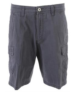 White Sierra Northridge Cargo Shorts Titanium