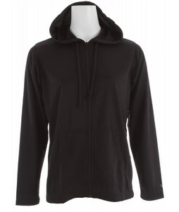 White Sierra Quarry Lake Hooded Jacket Black
