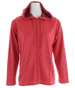 White Sierra Quarry Lake Hooded Jacket Lipstick