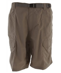 White Sierra Safari 10.5 Shorts Bark