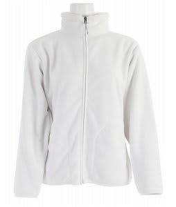 White Sierra Soda Springs Fleece Jacket Cloud