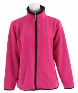 White Sierra Soda Springs Fleece Jacket Magenta