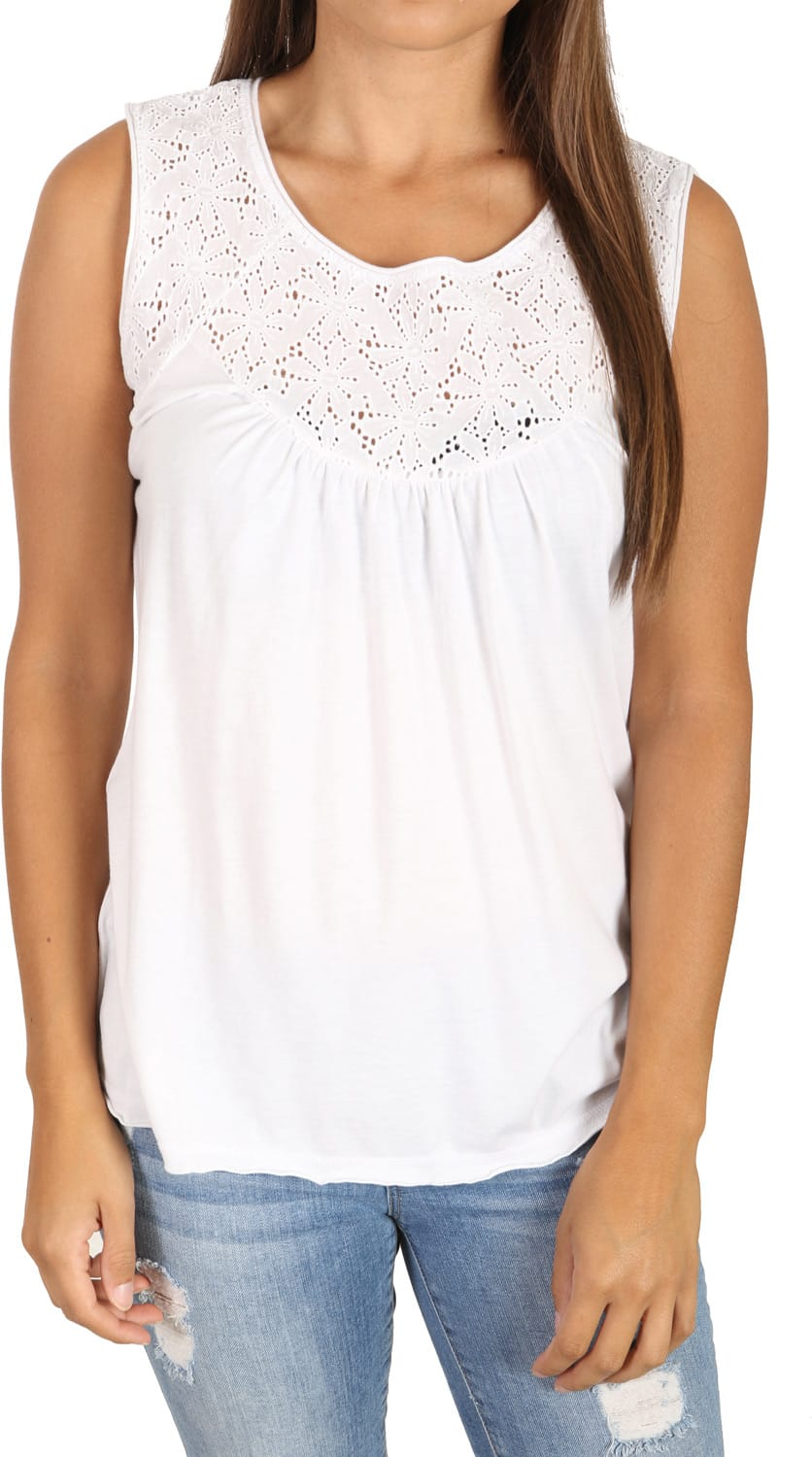 Shop for White Sierra Sugarloaf Tank White - Women's