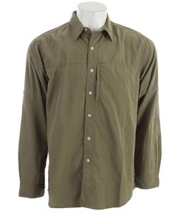 White Sierra Swamp L/S Shirt New Sage