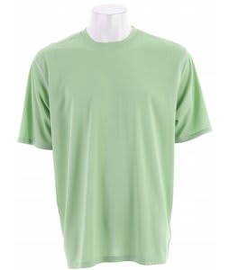 White Sierra Swamp Crew Shirt Spruce Green