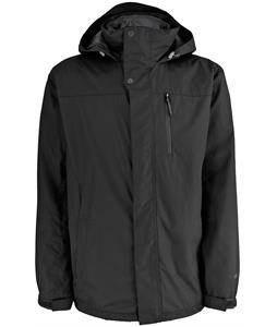 White Sierra Three Season Jacket Black