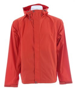 White Sierra Trabagon Rain Jacket Burnt Orange
