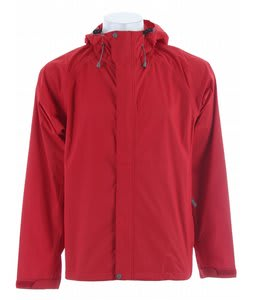 White Sierra Trabagon Rain Jacket Deep Red