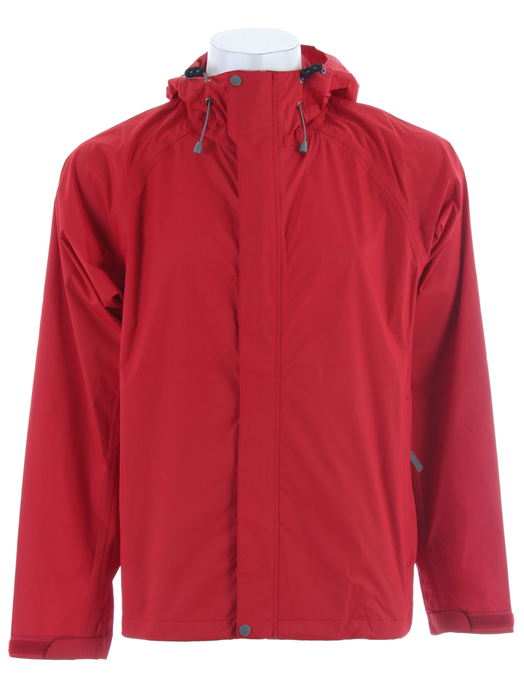 Shop for White Sierra Trabagon Rain Jacket Deep Red - Men's