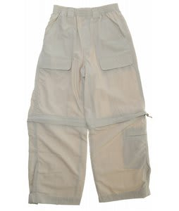 White Sierra Trail Convertible Pants