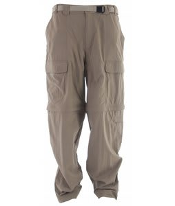 White Sierra Trail Pants Bark