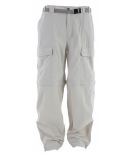 White Sierra Trail Pants Stone