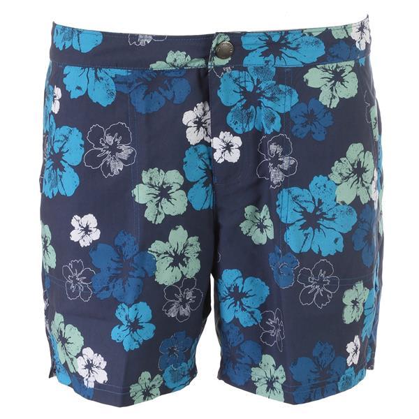White Sierra Tropical Sand & Sun Shorts