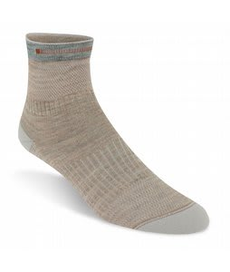 Wigwam Rebel Fusion Quarter Socks Khaki