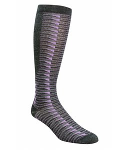Wigwam Snow Cat Trax Socks Periwinkle