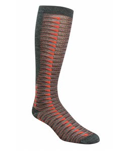 Wigwam Snow Cat Trax Socks Scarlet