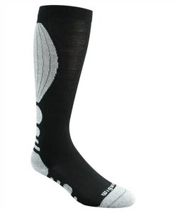 Wigwam Snow Steeps Pro Socks Black/Grey