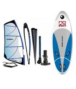 Bic Nova Windsurf Board 160D  w/ Chinook Powerglide Rig 4.0M