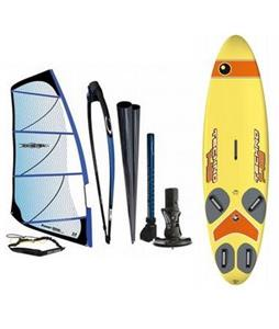 Bic Techno Windsurf Board 148L w/ Chinook Powerglide Rig 5.5M