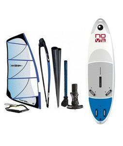 Bic Nova Windsurf Board 205D w/ Chinook Powerglide Rig 4.0M