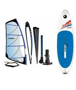 Bic Beach Windsurf Board 175D Blem w/ Chinook Powerglide Rig 6.5M
