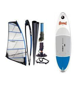 Bic Beach Windsurf Board 175D w/ Chinook Powerglide Windsurf Rig 6.5M