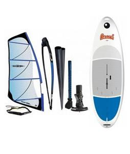 Bic Beach Windsurf Board 225D w/ Chinook Powerglide Rig 4.0M