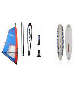 Kona One Windsurf Board 220L w/ Chinook Trainer Windsurf Rig 3.0m