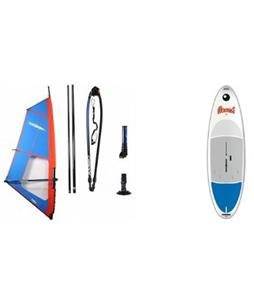 Bic Beach Windsurf Board 175Lw/ Chinook Trainer Rig