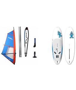 Starboard Rio Windsurf Board 276cm w/ Chinook Trainer Rig