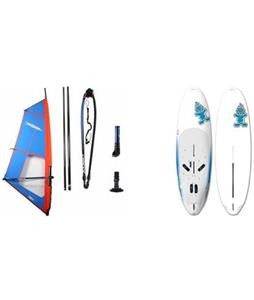 Starboard Rio Windsurf Board 290cm w/ Chinook Trainer Rig