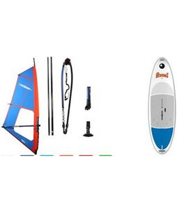 Bic Beach Windsurf Board 175Lw/ Chinook Shift Rig