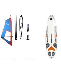 Bic Techno One Design Windsurf Board 293 Dagger w/ Chinook Shift Rig