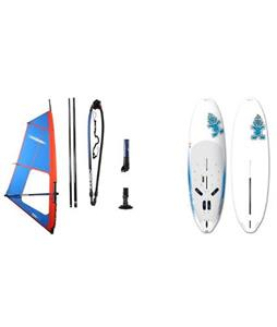Starboard Rio Windsurf Board 276cm w/ Chinook Shift Rig