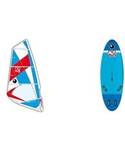 Bic Nova 165 Windsurf Board w/ Nova Rig