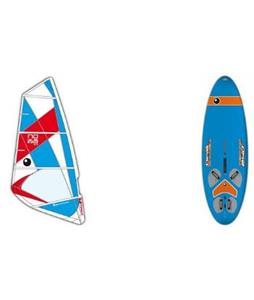 Bic Techno 240D Windsurf Board w/ Nova Rig