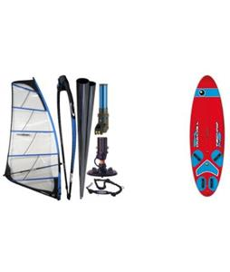 Bic Techno 148 Windsurf Board w/ Chinook Powerglide Rig