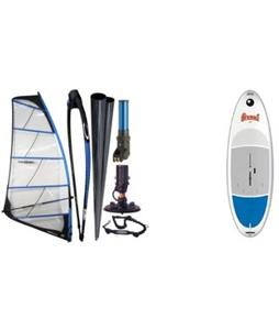Bic Beach 225D Windsurf Board w/ Chinook Powerglide Rig