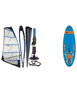 Bic Techno 240D Windsurf Board w/ Chinook Powerglide Rig