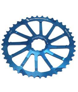 Wolf Tooth GC Sram Bike Chainring Blue 42T
