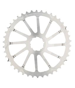 Wolf Tooth GC Sram Bike Chainring Silver 42T