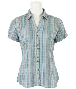 Woolrich Lakeside Plaid Shirt Aqua