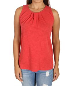 Woolrich Lakeside Tank Top Ribbon Red