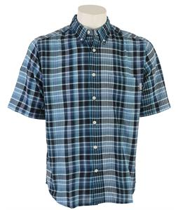 Woolrich Timberline Madras Plaid Shirt Legion Blue