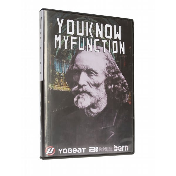 You Know My Function Snowboard DVD