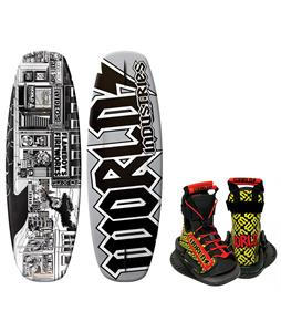 World Industries Stick-O-Rama Wakeboard w/ DC Bindings