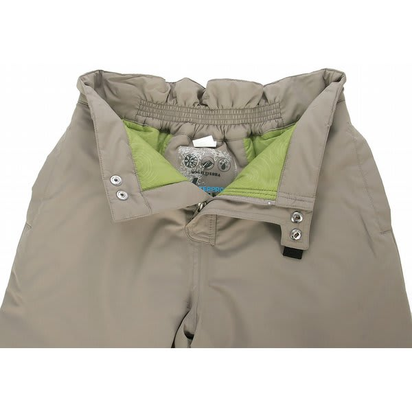 On Sale White Sierra Action Insulated Snow Pants Kids
