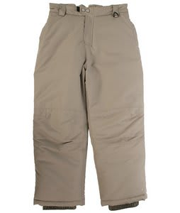 White Sierra Action Insulated Snow Pants Smoke