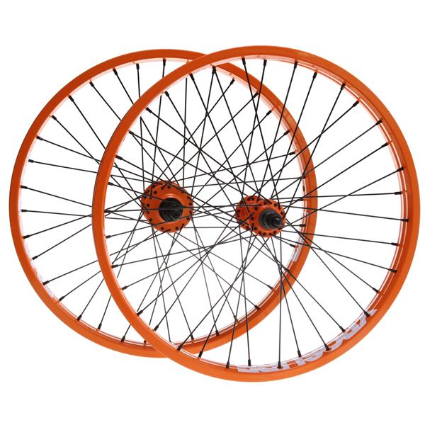 Xposure Mid Set Wheels Orange 20