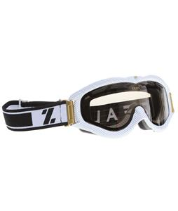 Zeal Detonator Goggles Carbon Matte White/Polarized Photochromic Lens